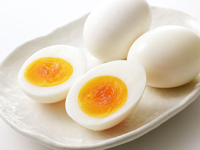 ゆで卵の殻